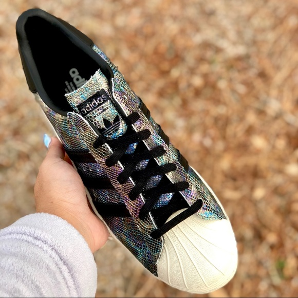Adidas Men's Superstar 80's Leather Sneaker NWT